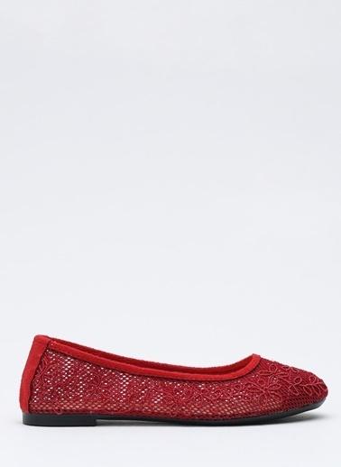 Shoes1441 Babet Kırmızı